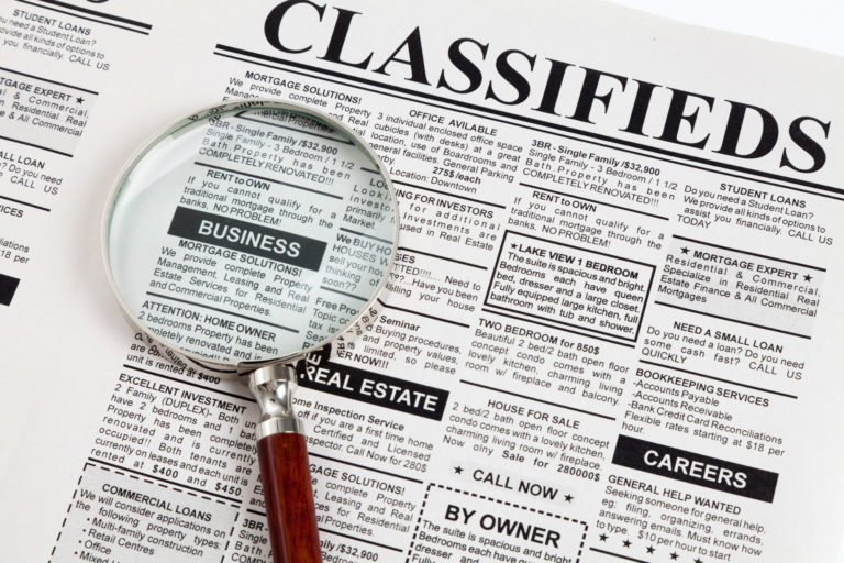 Finding The Online Classifieds In UAE